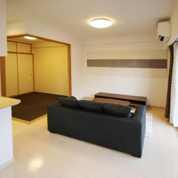 稲沢リノベーションマンション (リビング)