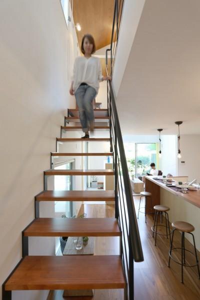 つながりの家 (階段)