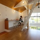4D studio Naganoの住宅事例「つながりの家」