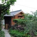 児島の小さなアトリエの写真 入口を見る