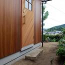 児島の小さなアトリエの写真 玄関アプローチ