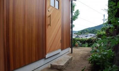 玄関アプローチ|児島の小さなアトリエ