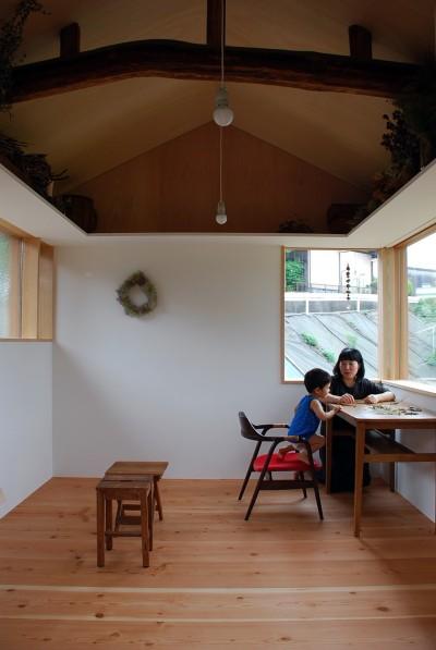 児島の小さなアトリエ (室内の様子-2)