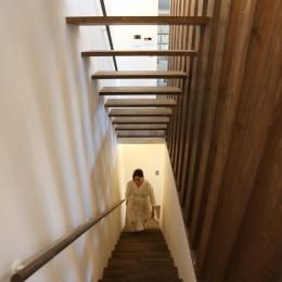 余白の家 (階段)