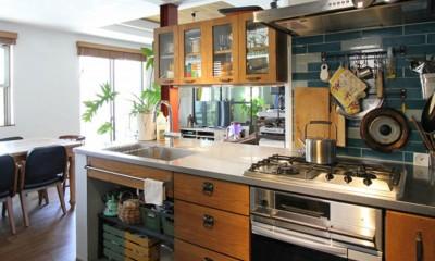 キッチン|大好きな本牧を住処に(本牧 戸建てリノベーション)