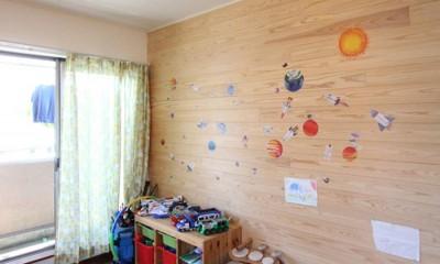 子供部屋|大好きな本牧を住処に(本牧 戸建てリノベーション)