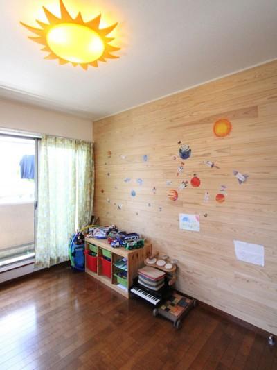 子供部屋 (大好きな本牧を住処に(本牧 戸建てリノベーション))