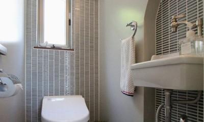 大好きな本牧を住処に(本牧 戸建てリノベーション) (トイレ)