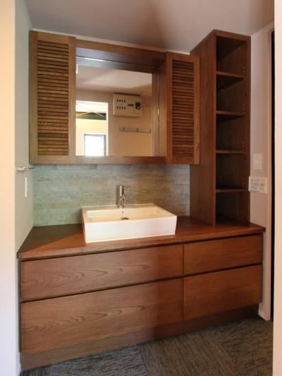 洗面室 (吉祥寺 戸建てリノベーション)