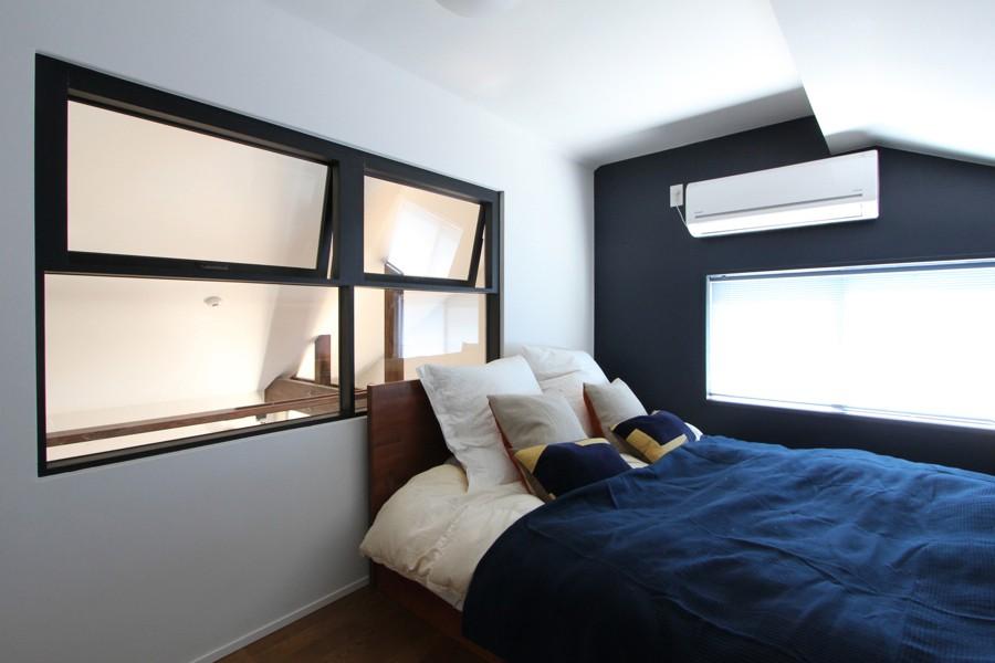 ベッドルーム事例:べッドルーム(心地よさと楽しさのバランス(沼袋 戸建てリノベーション))