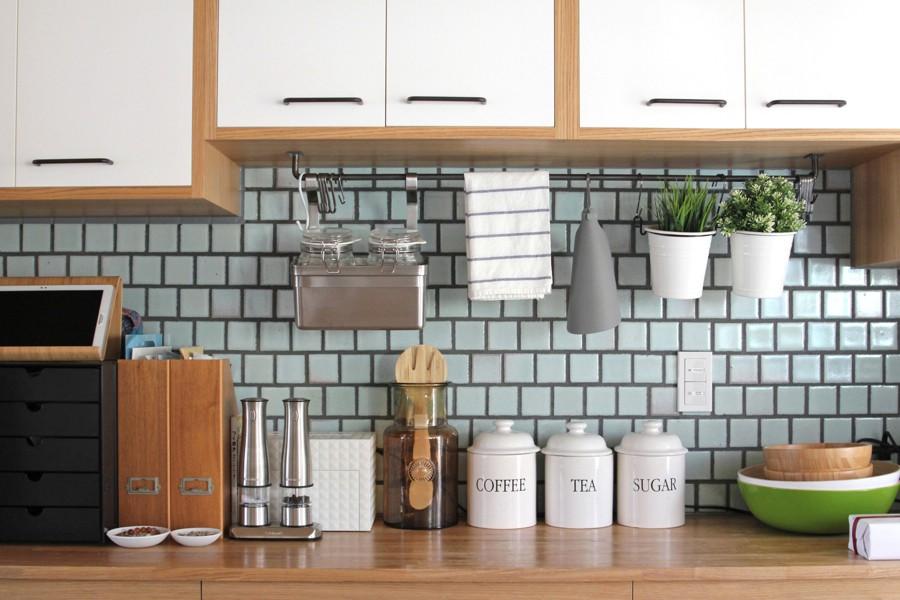 心地よさと楽しさのバランス(沼袋 戸建てリノベーション) (キッチン)