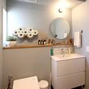 心地よさと楽しさのバランス(沼袋 戸建てリノベーション)の写真 トイレ