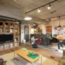FIELDGARAGE Inc.の住宅事例「壁をつくらない 空間の仕切り方(鶴見区 I邸マンションリノベーション)」