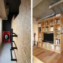 壁をつくらない 空間の仕切り方(鶴見区 I邸マンションリノベーション)の写真 ロフト