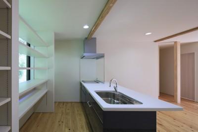 キッチン (nishimera-no-ie)