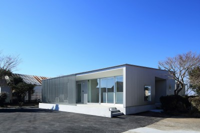 shinbyuchou-no-mise    店舗付住宅 (外観(北東面))