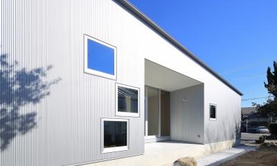 shinbyuchou-no-mise    店舗付住宅 (外観(南面))