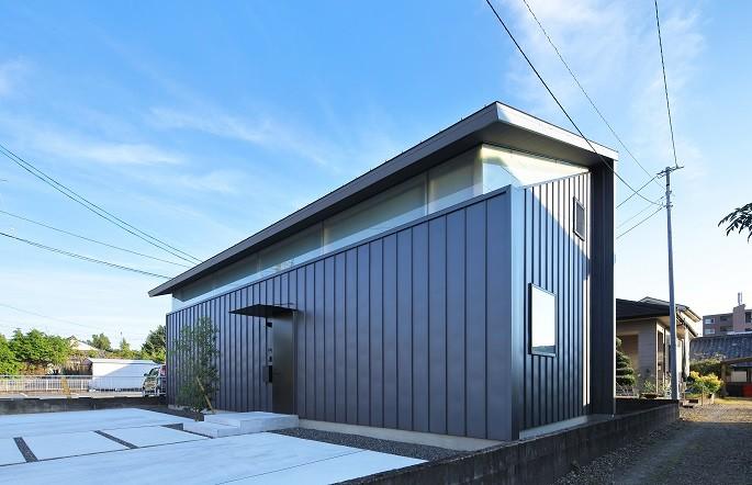 建築家:大薗貴洋「妻ヶ丘町の家~音楽室のある家~」