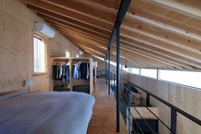 寝室 (妻ヶ丘町の家~音楽室のある家~)