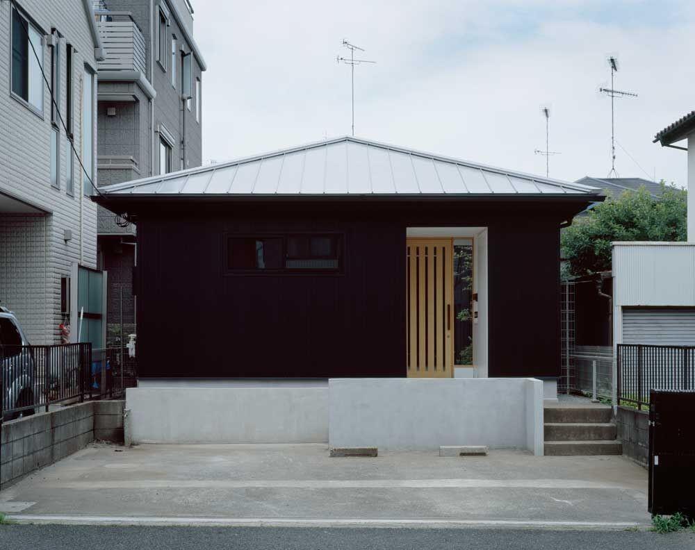 中庭のある家 (外観)