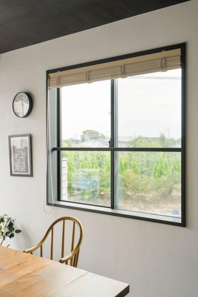 窓 (家族が繋がる家)
