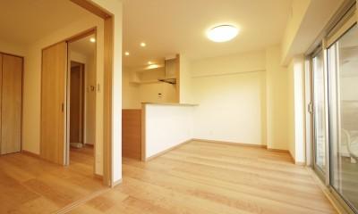 昭和のお部屋を新築風に
