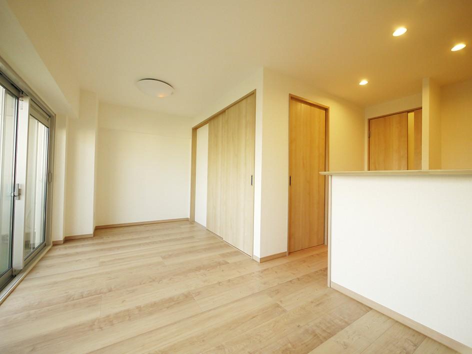 昭和のお部屋を新築風に (リビング)