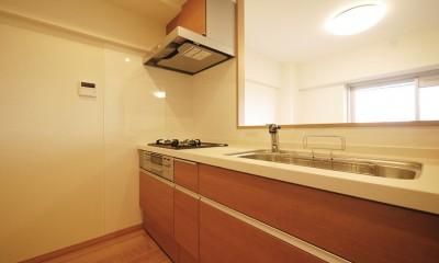 昭和のお部屋を新築風に (キッチン)