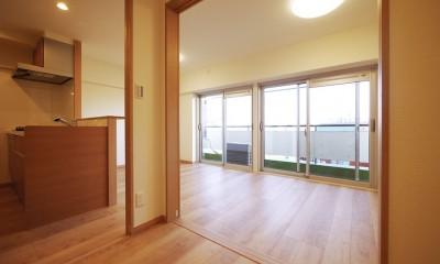 昭和のお部屋を新築風に (洋室)
