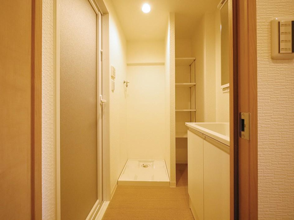 昭和のお部屋を新築風に (洗面室)