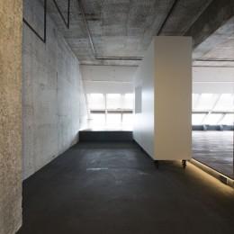 tokyo LOFT (玄関よりベッドルームを見る)