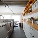スギに囲まれたスキな家の写真 キッチン