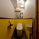スギに囲まれたスキな家の写真 トイレ