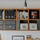 スギに囲まれたスキな家の写真 キッチン棚