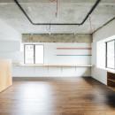 田中亮平 + 許光範の住宅事例「ビコロールの家~さりげない色使いがポイントに~」