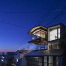 acaaの住宅事例「東京の崖地に浮かぶ絶景の住処」