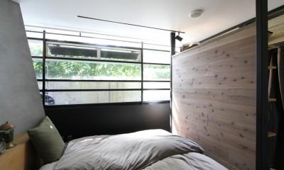 素材が変わる 家が変わる(渋谷 C邸戸建てリノベーション) (ベッドルーム)