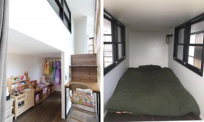 子供部屋|素材が変わる 家が変わる(渋谷 C邸戸建てリノベーション)