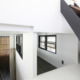 素材が変わる 家が変わる(渋谷 C邸戸建てリノベーション) (子供部屋・屋上への階段)
