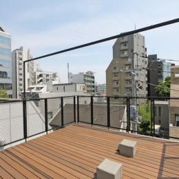 素材が変わる 家が変わる(渋谷 C邸戸建てリノベーション) (屋上)