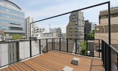 屋上|素材が変わる 家が変わる(渋谷 C邸戸建てリノベーション)
