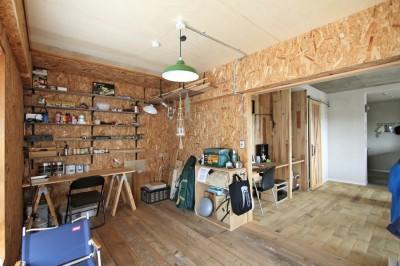 "DIY ROOM (""DIY ROOM""で家作りは続く(東大宮 K邸マンションリノベーション))"