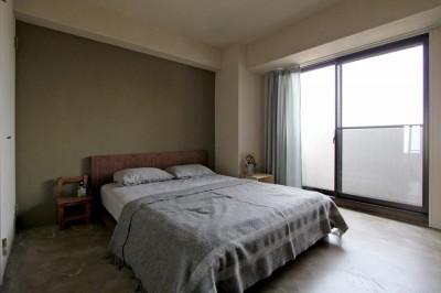 """ベッドルーム (""""DIY ROOM""""で家作りは続く(東大宮 K邸マンションリノベーション))"""