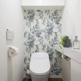 戸建ての夢を叶えたマンションリノベ (トイレ)