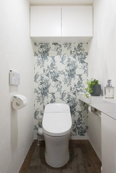 トイレ (戸建ての夢を叶えたマンションリノベ)