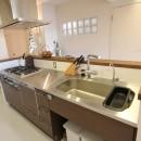 日吉N邸 マンションリノベーションの写真 キッチン