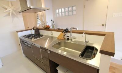 日吉N邸 マンションリノベーション (キッチン)