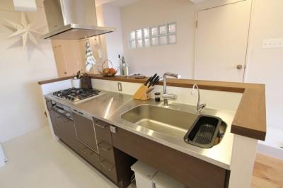 キッチン (日吉N邸 マンションリノベーション)
