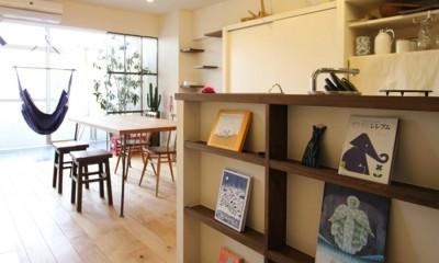 日吉N邸 マンションリノベーション (ダイニングキッチン)