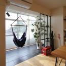 日吉N邸 マンションリノベーションの写真 インナーテラス